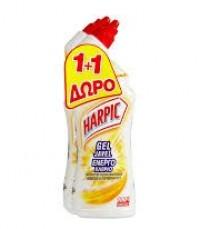 Υγρό καθαριστικό τουαλέτας HARPIC ενεργό χλώριο 2x750ml (1+1 δώρο)