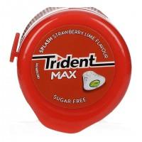 Τσίχλες TRIDENT splash φράουλα και lime 50,6gr