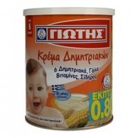 Κρέμα δημητριακών ΓΙΩΤΗΣ 300gr (-0,80€)