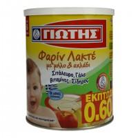 Κρέμα παιδική ΓΙΩΤΗΣ φαρίν λακτέ μήλο & αχλάδι 300gr (-0,60€)