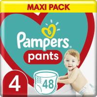 Πάνες PAMPERS Pants Maxi Pack No4 9-15kg 48τμχ