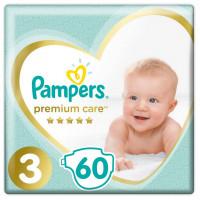 Πάνες PAMPERS Premium Care No3 6-10kg 60τμχ