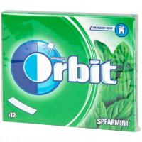 Τσίχλες ORBIT δυόσμος φάκελος 31gr 12τμχ