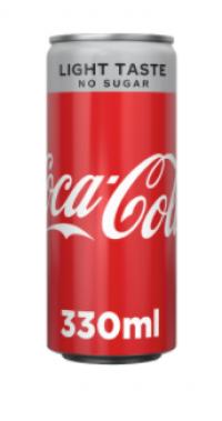 Αναψυκτικό COCA COLA light 330ml