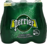 Νερό PERRIER Φυσικό Μεταλλικό Ανθρακούχο 6x200ml