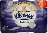 Χαρτί υγείας KLEENEX Capitonne 12τμχ (10+2 δώρο)