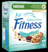 Μπάρες δημητριακών FITNESS cookies & cream 6x23,5gr