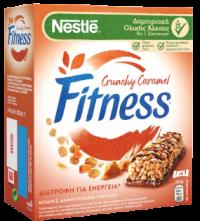 Μπάρες δημητριακών FITNESS crunchy caramel 6x23,5gr