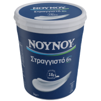 Γιαούρτι ΝΟΥΝΟΥ στραγγιστό 6% 1kg