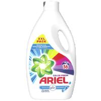 Υγρό πλυντηρίου ARIEL touch of Lenor color 56μεζ.