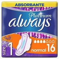 Σερβιέτες ALWAYS platinum ultra normal plus 16τμχ (duo pack)