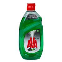 Υγρό πιάτων AVA Plus+ με ενεργό άνθρακα & άρωμα λεμόνι 430ml