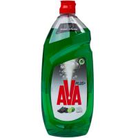 Υγρό πιάτων AVA Plus+ με ενεργό άνθρακα & άρωμα λεμονιού 900ml
