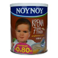 Κρέμα ΝΟΥΝΟΥ 7 δημητριακών 300gr (-0,80€)