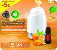 Αποσμητικό χώρου συσκευή AIRWICK essential mist mandarine (-5€)